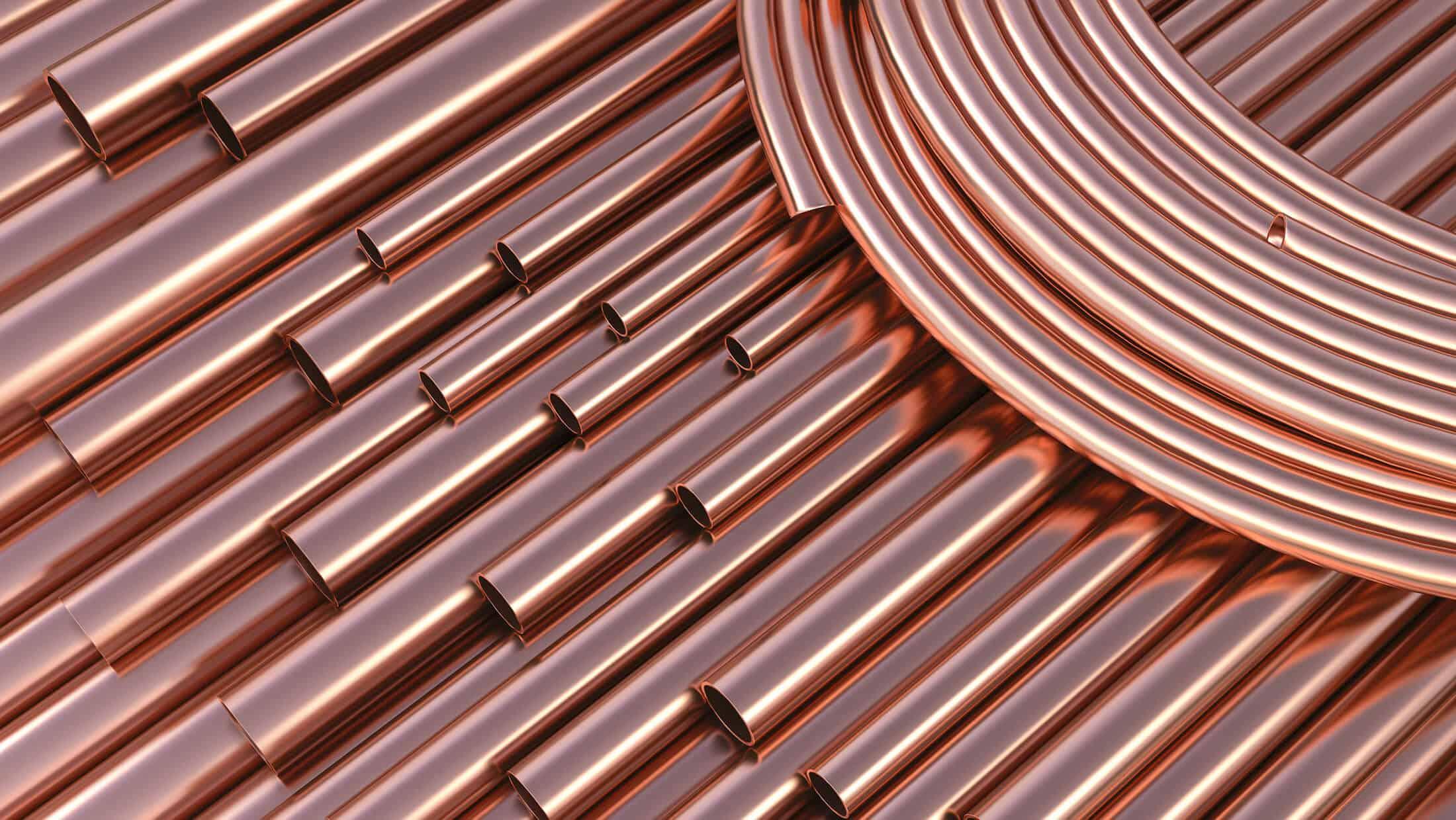 15mm copper pipe & 22mm copper Pipe