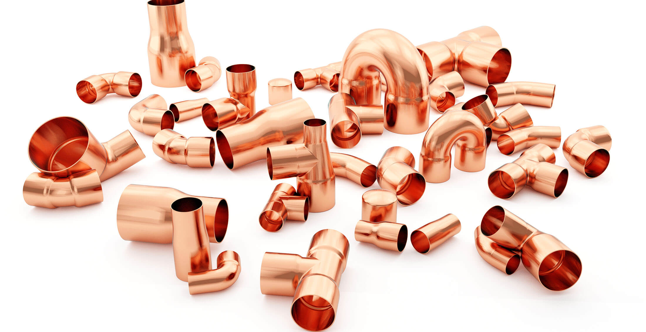 Endfeed copper pipe Fittings at WP Pipeline Merchants