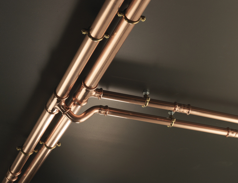 Copper press fit Systems at WP pipeline merchants
